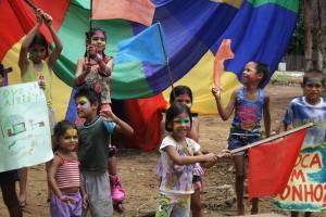 Novo Airão- Jogo OASIS finaliza as atividades com a entrega de um novo espaço para lazer