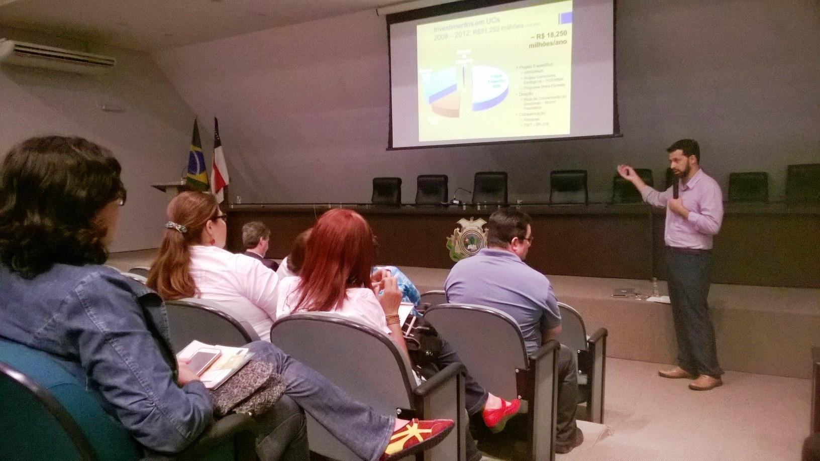 FVA participa de audiência pública em apresentação da Análise da Implementação do Sistema Estadual de Unidades de Conservação (SEUC)