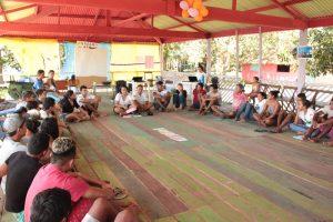 Oficina de educomunicação reúne jovens da RDS Rio Negro