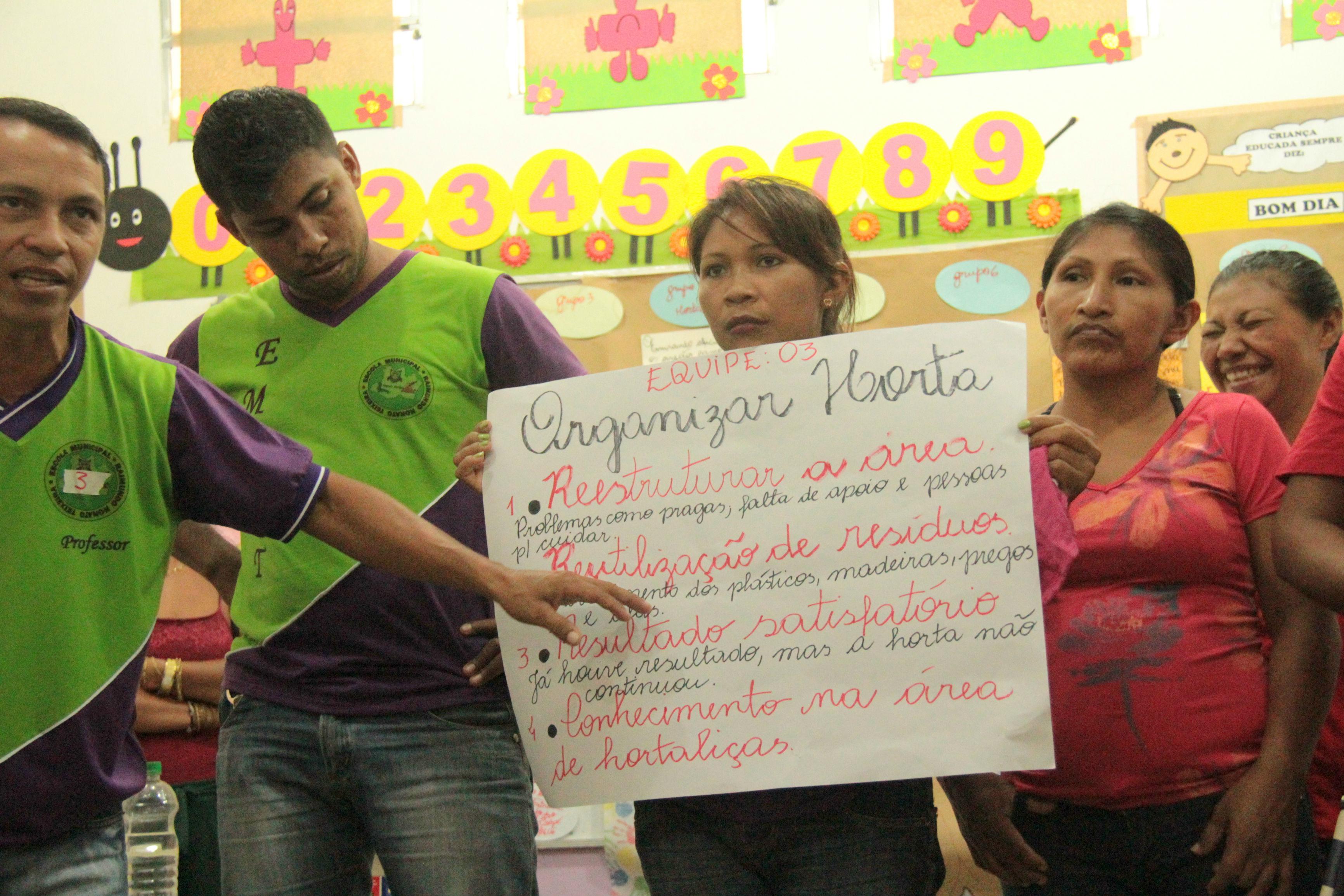 Ajuri realiza oficina de sonhos e ações em escolas de Novo Airão