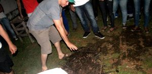 AJURI Novo Airão – Oficina oferece técnicas de compostagem para horta orgânica escolar