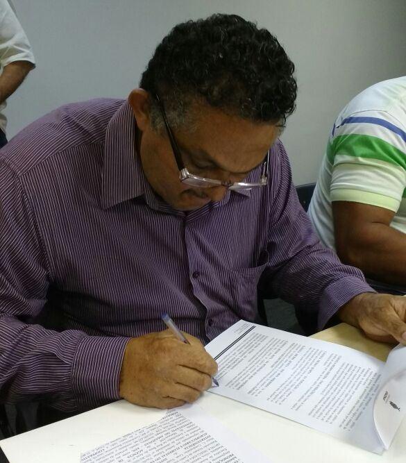 Presidente da COOMARU, João Evangelista Souza.