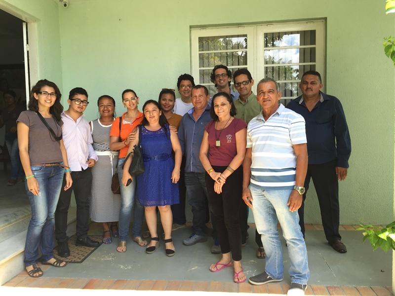 Técnicos da FVA e representantes de cinco Usinas de Base Comunitária do Amazonas.