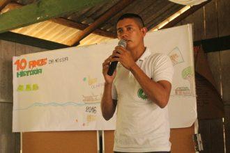 secretário de Juventude do Conselho Nacional de Populações Extrativistas (CNS), Dione Torquato