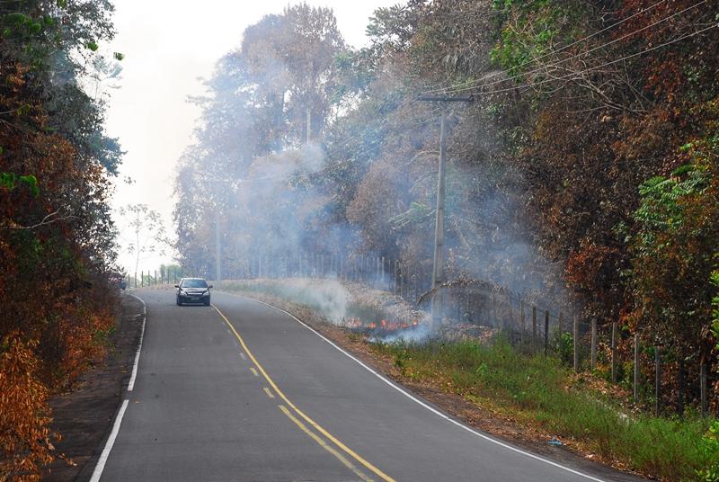 Focos de queimadas atingem números recordes na RMM