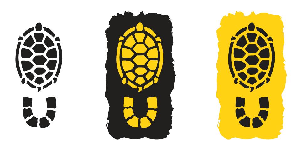 Pegada em formato de quelônio marca nascimento da Rede de Trilhas do Mosaico do Baixo Rio Negro