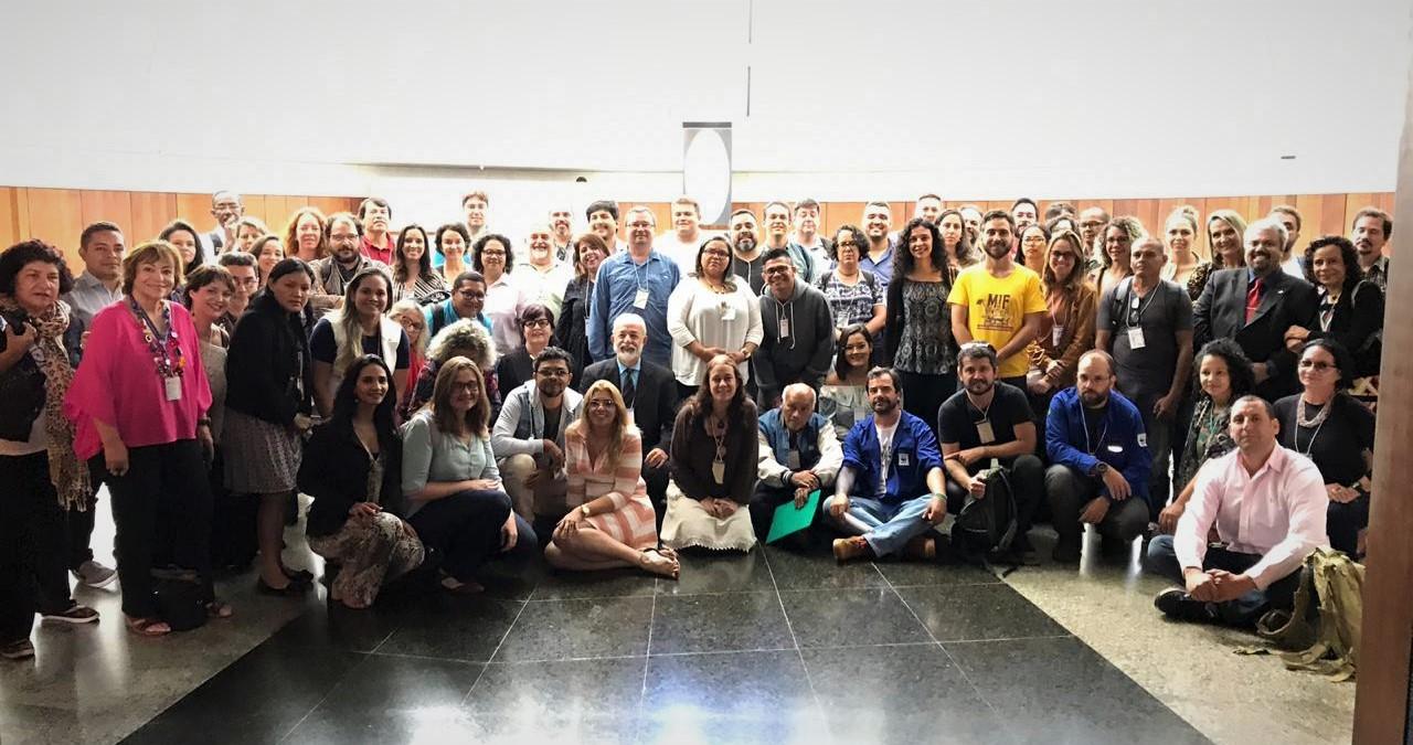 Rede de Mosaicos sai fortalecida após encontro nacional