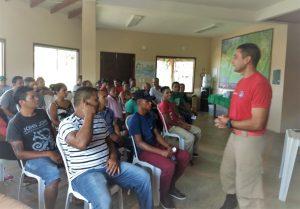Espaço FVA recebe oficinas de formação de brigadistas do Mosaico do Baixo Rio Negro